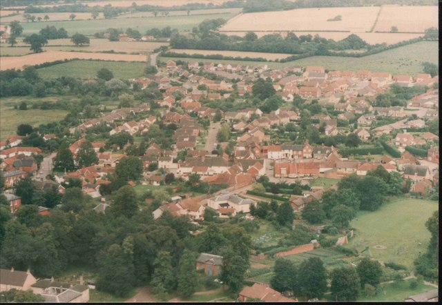 The main village of East Harling