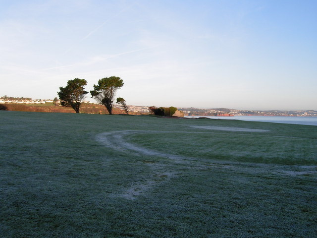 Frosty Morning on the Public Golf Course, near Broadsands