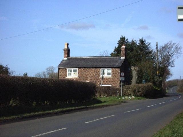 Cottage off Simonswood Lane