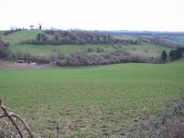 Farmland off Combe Hay Lane