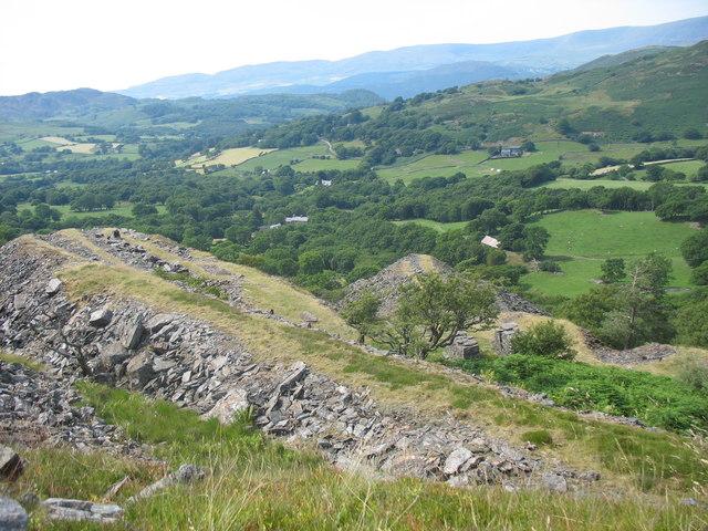 The Penrhyn Gwyn Quarry