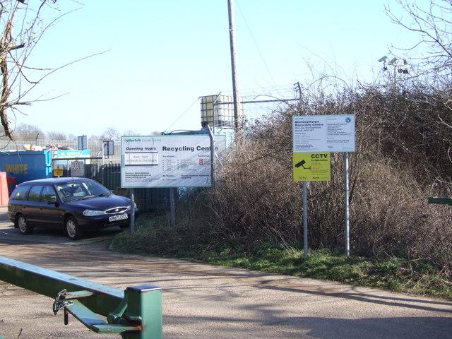 Morningthorpe Recycling Centre