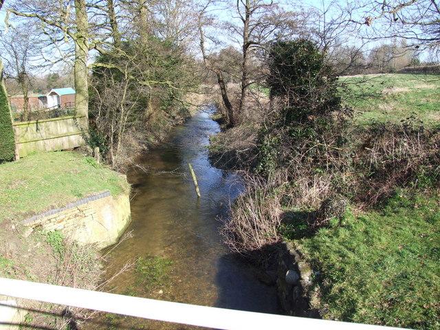 Stream from the road, Hempnall