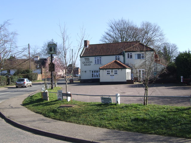 The Queens Head, Hempnall