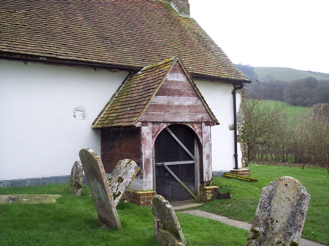 St Andrew's Church, Didling - Porch