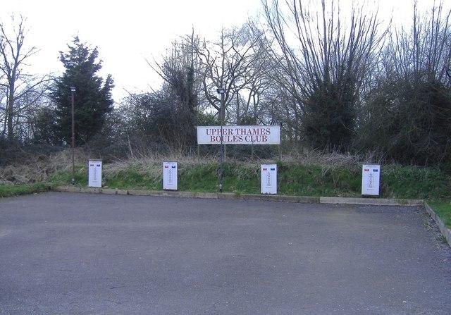 Upper Thames Boules Club