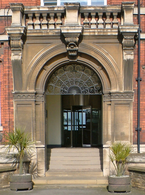 Grimsby Dock Office - Doorway
