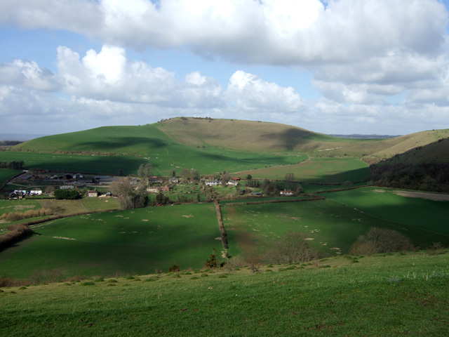 Melbury Hill from Fontmell Down