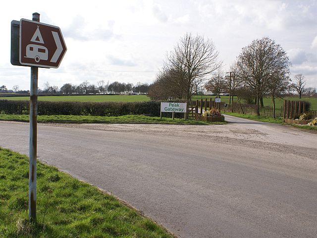 Entrance to Peak Gateway