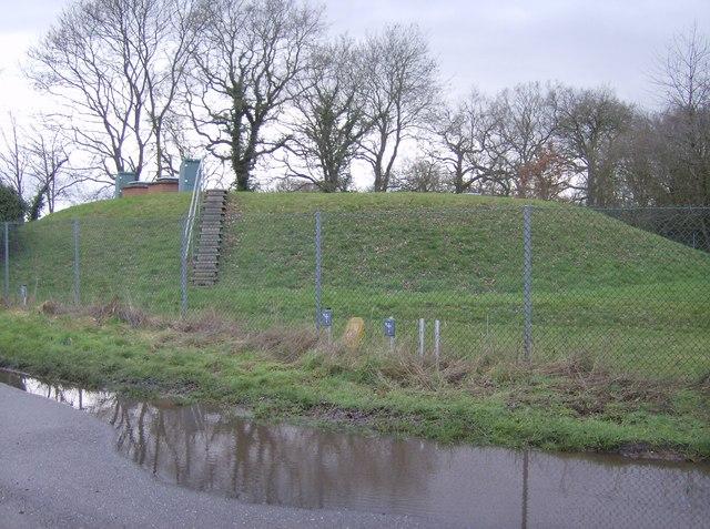 Reservoir near Clay Hill
