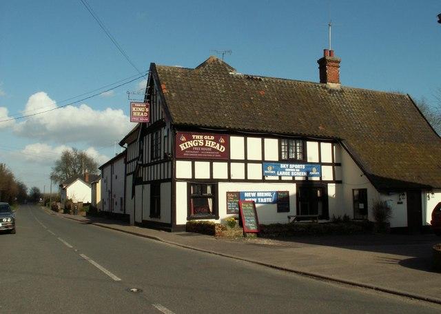 'The Old Kings Head' inn