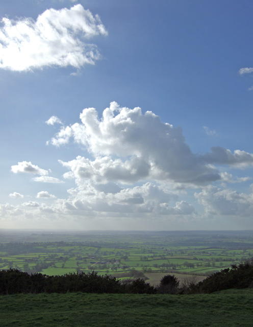 View from Melbury Beacon