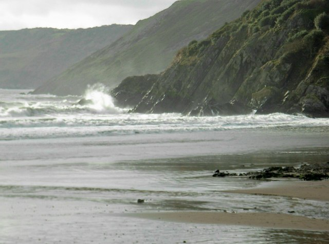 Coastline West from Caswell Bay