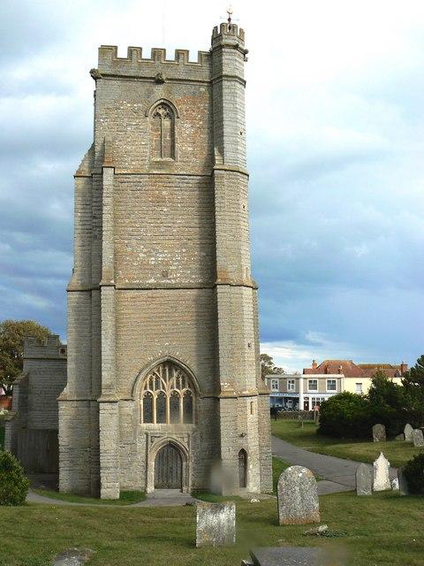 St Andrew's Church Burnham on Sea Somerset (2)