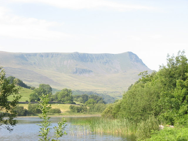 The upper end of Llyn Gwernan