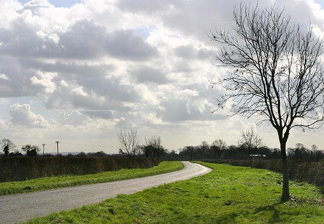 Sunshine and Clouds near Glympton