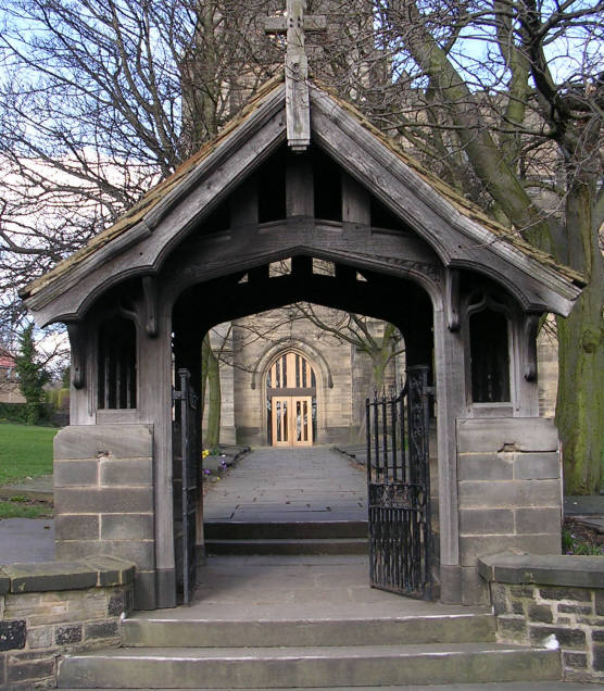 Lych Gate, St Lawrence & St Paul's Church