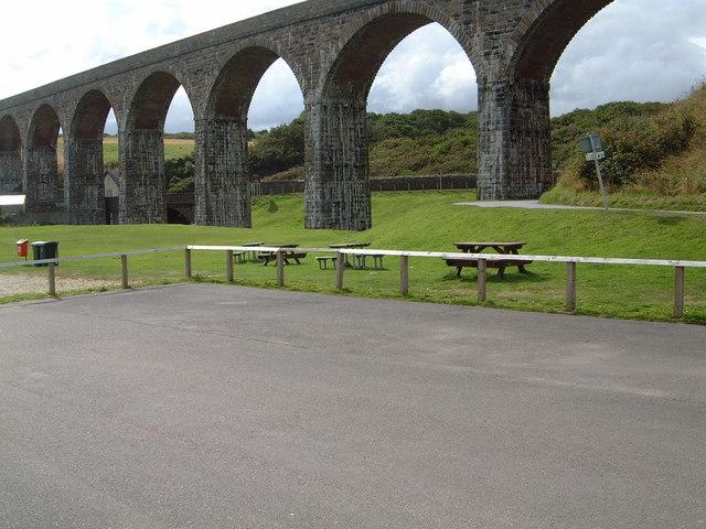 Cullen Viaduct from Beach Car Park