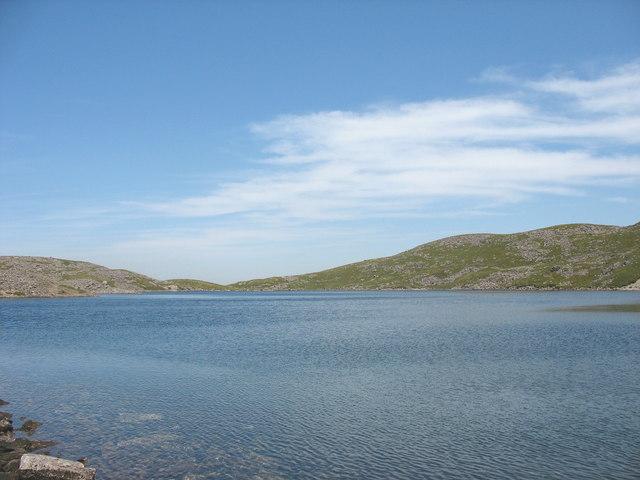 View North across Llyn y Gadair