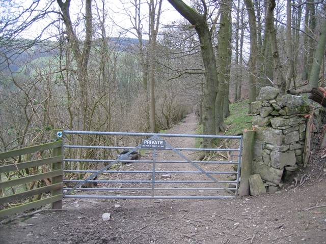 Private Drive by the Offas Dyke Long Distance Path