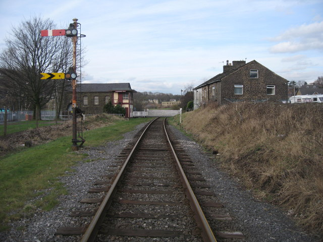 East Lancashire Railway at Townsend Fold