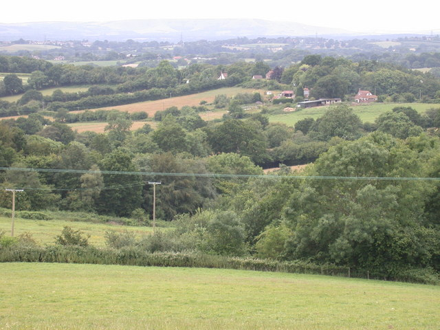 View towards South Downs from Herring's Road