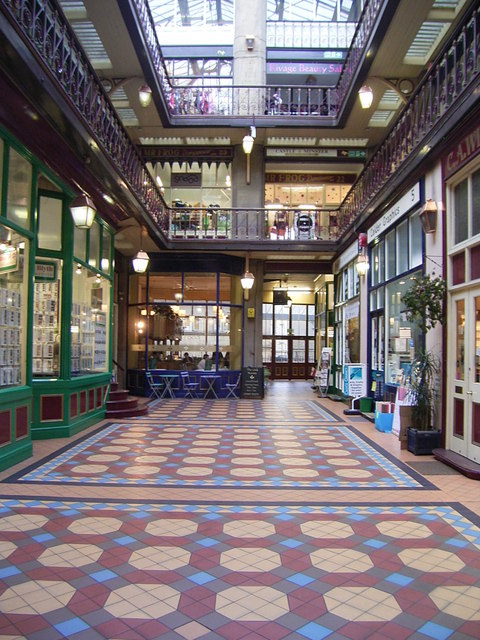 Byram  Arcade  Interior.