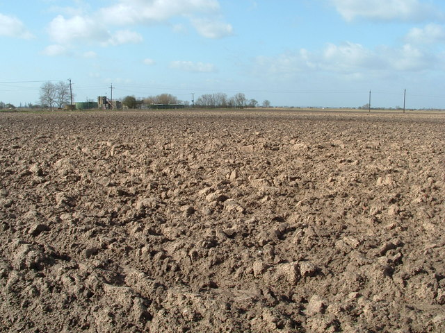 Ploughed now weathering