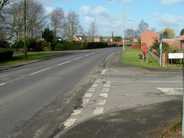 Churchfleet Lane junction A152
