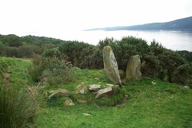 Chambered Cairn at Kilmichael, Isle of Bute