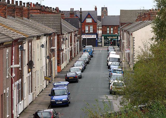 Goole, Gordon Street