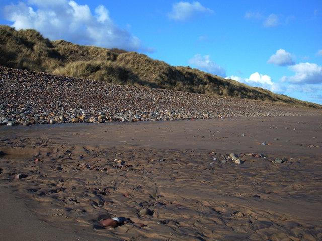 Sand, Shingle and Dunes, Druridge Bay, Northumberland