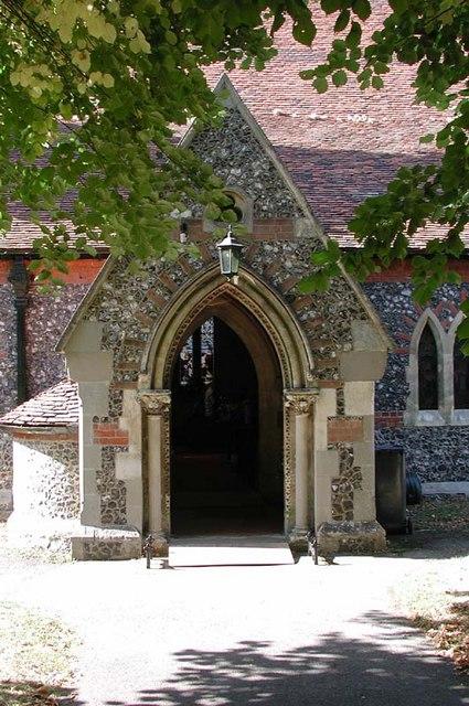 St James, High Wych, Herts - Porch