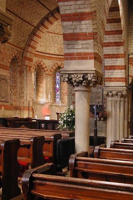 St James, High Wych, Herts - Interior