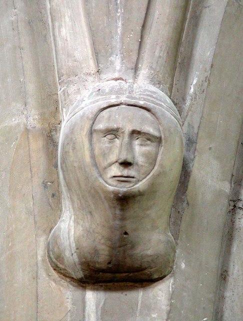 St Mary the Great, Sawbridgeworth, Herts - Corbel
