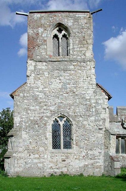 St Mary Magdalene, Caldecote, Herts - Tower