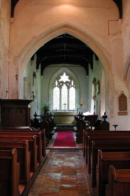 St Vincent, Newnham, Herts - East end