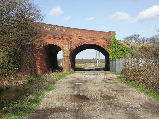 Railway Bridge north of Somerford