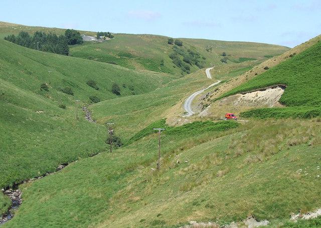 Upper Doethie Valley (July), Ceredigion