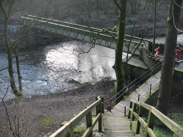 Nuttall Park Footbridge