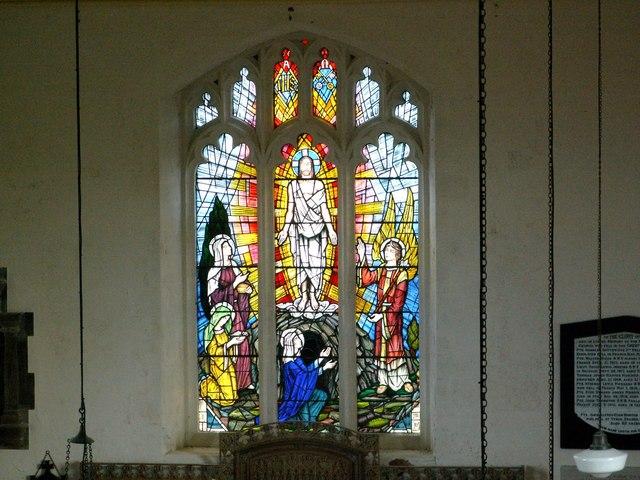 Llansantffraed Church interior