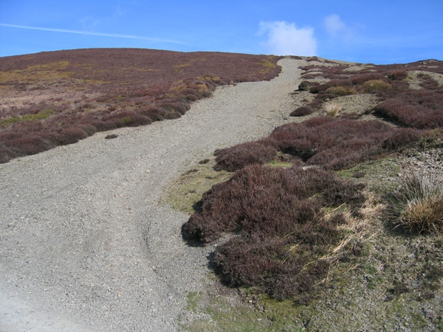 Eroded Track up Moel Morfydd