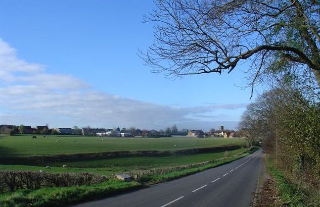 Little Houghton from the East