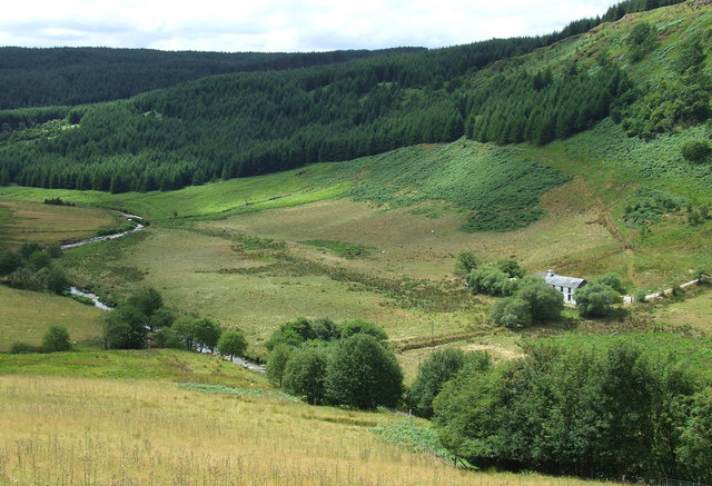 Tywi Valley and Dolgoch Youth Hostel