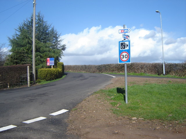 Junction with Church Road, Undy