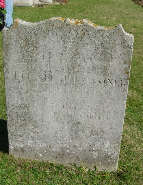 Gravestone for James Falconer 1813