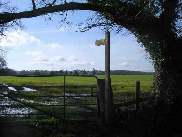 Footpath to Upper Breinton