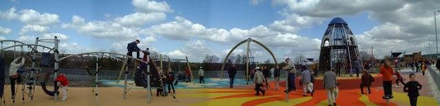 Magna Science Museum - Playground Panoramic