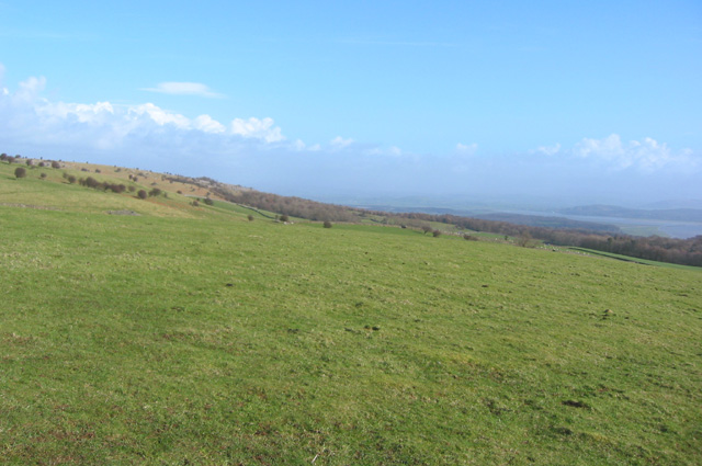 View eastwards from Fell End