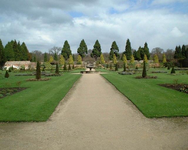 Newstead Abbey - Walled Garden